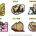 日本當地限定特色造型明信片 愛知 共六彈 一張$85
