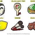 日本當地限定特色造型明信片 廣島 共六彈 一張$85
