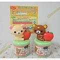 $360 日本 店舖限定商品 懶熊造型口香糖罐 可夾memo紙 懶熊 / 懶熊妺