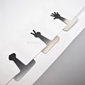 $250 日本 造型迴紋針 手指圖款