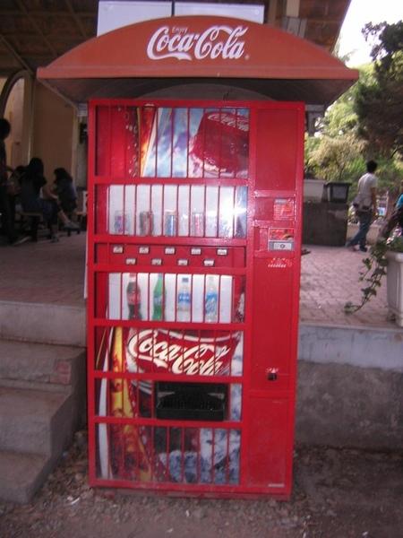 復古可樂販賣機