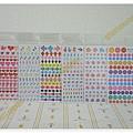 $70 日本製oriental手帳貼紙 K變形愛心 / L音符 / M箭頭 / N手指 / O玫瑰 / P鈕扣