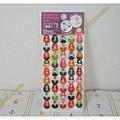 $100 日本 分頁活頁紙洞孔補強貼紙 手帳可用註記貼紙