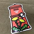 已售完~季節紅色郵筒型明信片2011春季限定版