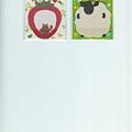 $180 日本 半透明 N次memo便利貼 草莓熊 / 綿羊