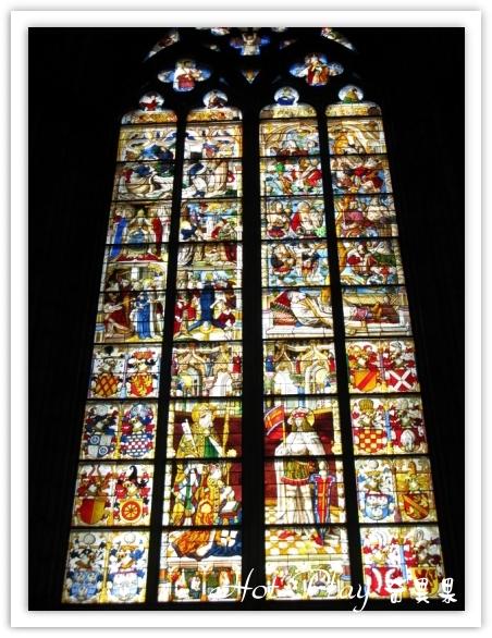 科隆教堂內彩繪玻璃