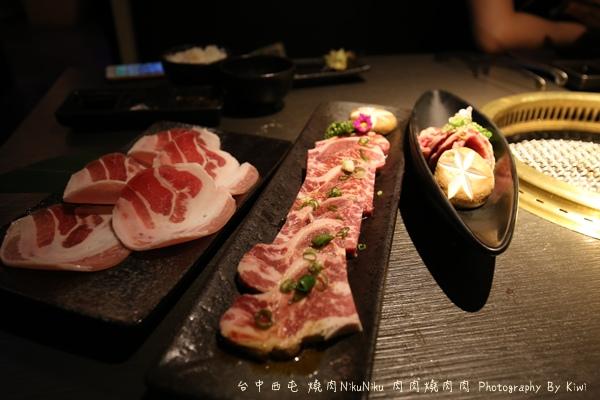 台中西屯區燒肉NikuNiku 肉肉燒肉秋紅谷附近單點雙人套餐三人套餐塌塌米座位獨立空間座位7301