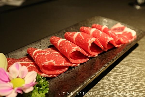 台中西屯區燒肉NikuNiku 肉肉燒肉秋紅谷附近單點雙人套餐三人套餐塌塌米座位獨立空間座位7270