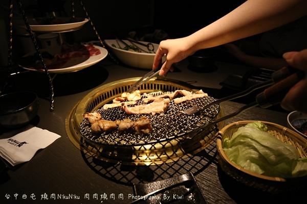 台中西屯區燒肉NikuNiku 肉肉燒肉秋紅谷附近單點雙人套餐三人套餐塌塌米座位獨立空間座位7256