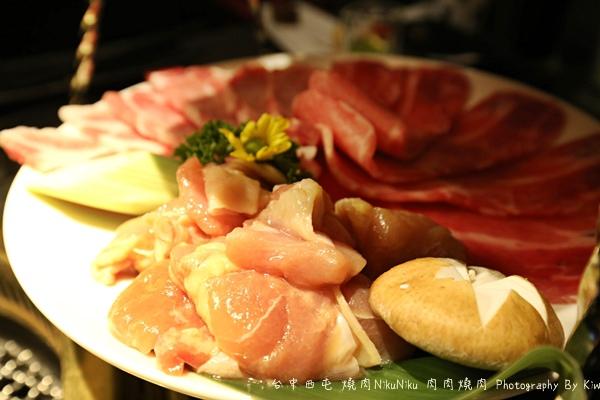 台中西屯區燒肉NikuNiku 肉肉燒肉秋紅谷附近單點雙人套餐三人套餐塌塌米座位獨立空間座位7215