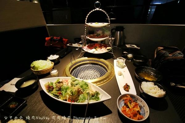 台中西屯區燒肉NikuNiku 肉肉燒肉秋紅谷附近單點雙人套餐三人套餐塌塌米座位獨立空間座位7206