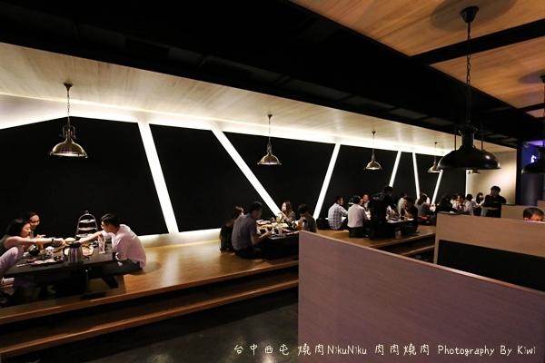 台中西屯區燒肉NikuNiku 肉肉燒肉秋紅谷附近單點雙人套餐三人套餐塌塌米座位獨立空間座位7241