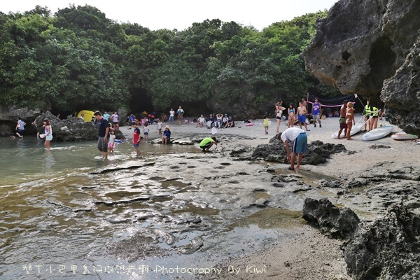 屏東墾丁小巴里島珊瑚礁岩灘恆春景點親子遊玩水0654