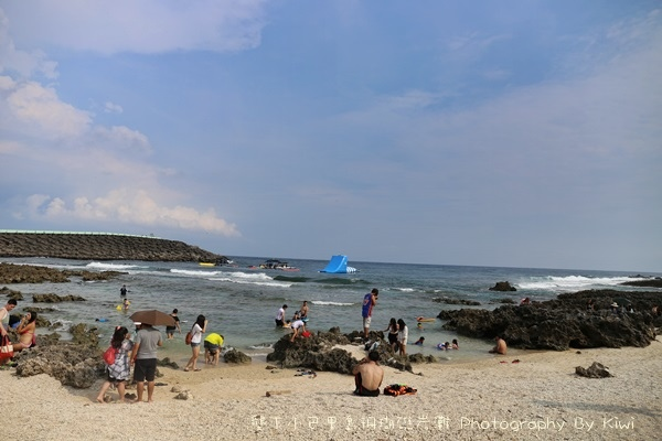 屏東墾丁小巴里島珊瑚礁岩灘恆春景點親子遊玩水0612