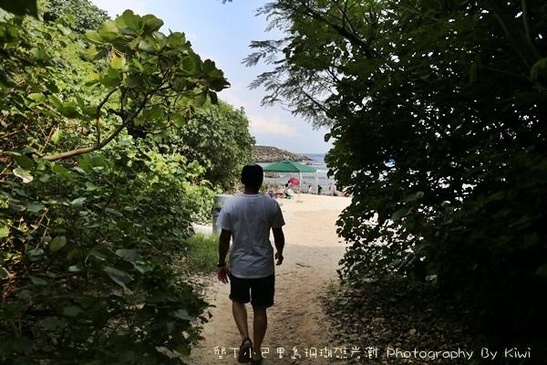 屏東墾丁小巴里島珊瑚礁岩灘恆春景點親子遊玩水0610