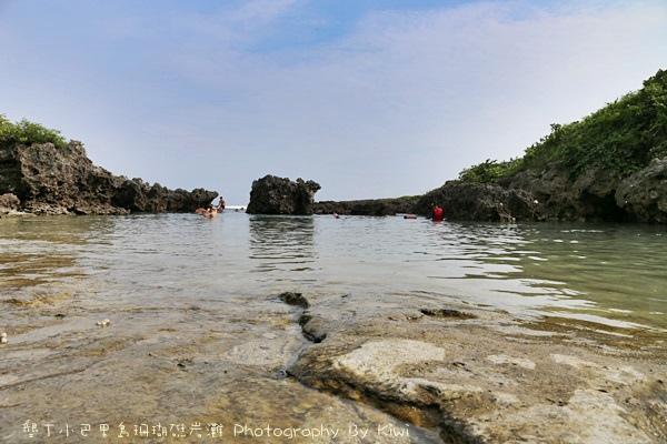 屏東墾丁小巴里島珊瑚礁岩灘恆春景點親子遊玩水0656