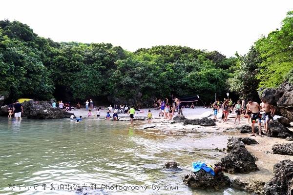 屏東墾丁小巴里島珊瑚礁岩灘恆春景點親子遊玩水0651