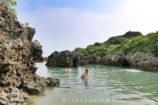 屏東墾丁小巴里島珊瑚礁岩灘恆春景點親子遊玩水0650