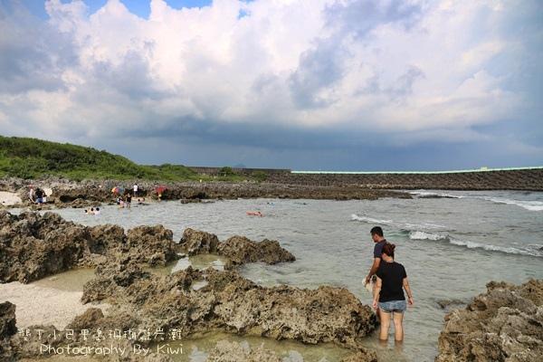 屏東墾丁小巴里島珊瑚礁岩灘恆春景點親子遊玩水0627