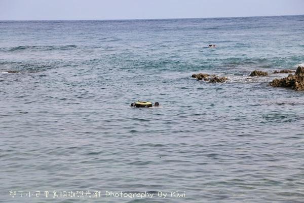 屏東墾丁小巴里島珊瑚礁岩灘恆春景點親子遊玩水0686