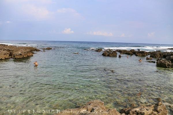 屏東墾丁小巴里島珊瑚礁岩灘恆春景點親子遊玩水0682