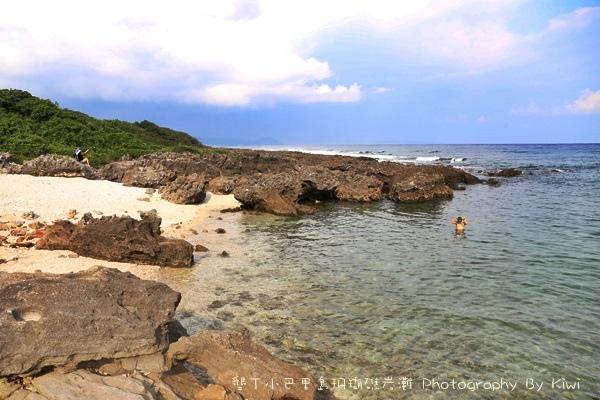 屏東墾丁小巴里島珊瑚礁岩灘恆春景點親子遊玩水0684