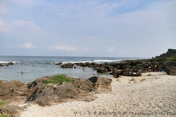 屏東墾丁小巴里島珊瑚礁岩灘恆春景點親子遊玩水0679