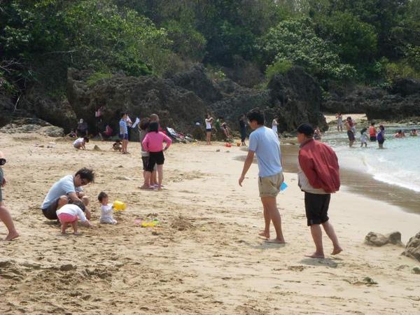 沙灘--美女