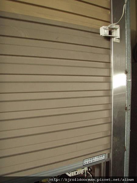 鍍鋁鋅鋼板捲門