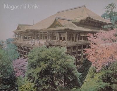 京都清水寺の舞台