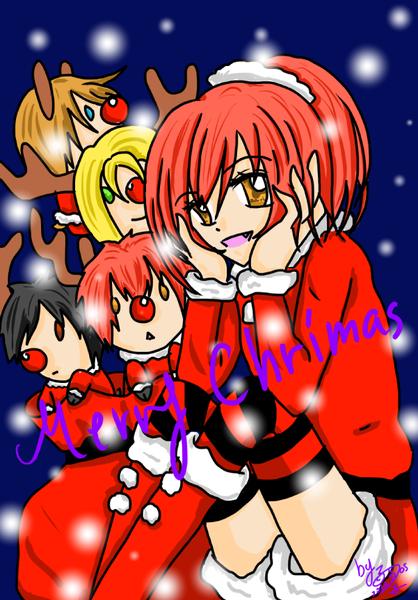 聖誕賀圖-版本1