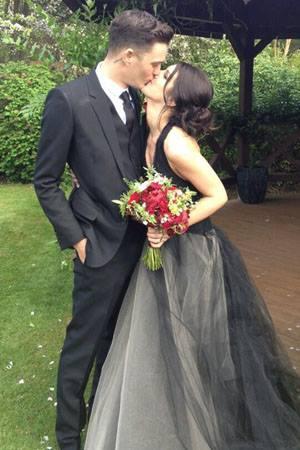婚紗推薦宴客婚紗黑色婚紗禮服