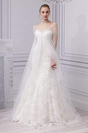Monique Lhuillier台中婚紗公司試穿頂級婚紗
