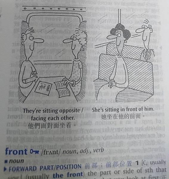 牛津高階英漢雙解詞典 圖解