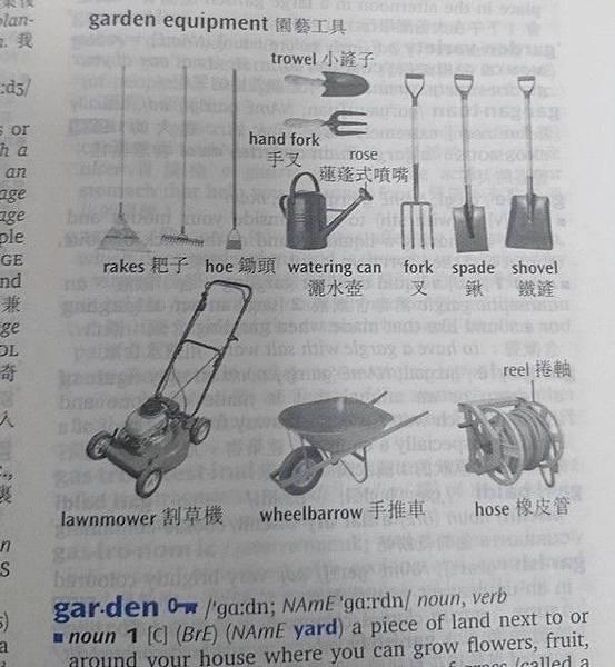 牛津高階英漢雙解詞典 圖解延伸