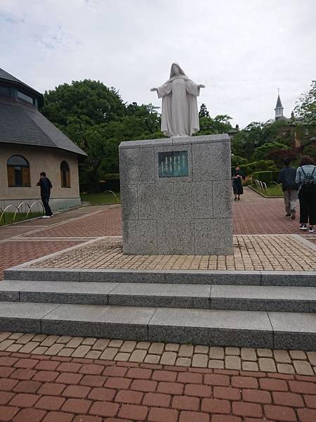北海道女子修道院聖母雕像