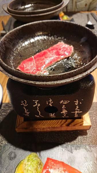 漁曜海物之四喜堂私廚-爐燒和牛2