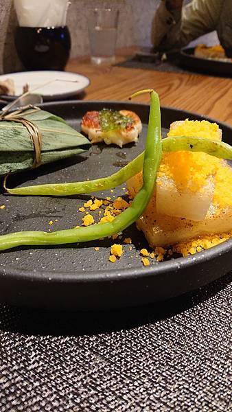 漁曜海物之四喜堂私廚-竹葉香魚鹹粿