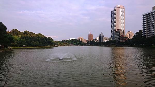碧湖公園噴池