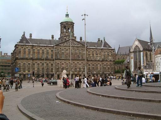 荷蘭094-水壩廣場與舊皇宮.JPG
