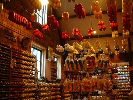 荷蘭014-木鞋工廠.JPG