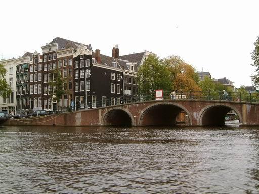 荷蘭056-玻璃船上遊運河.JPG