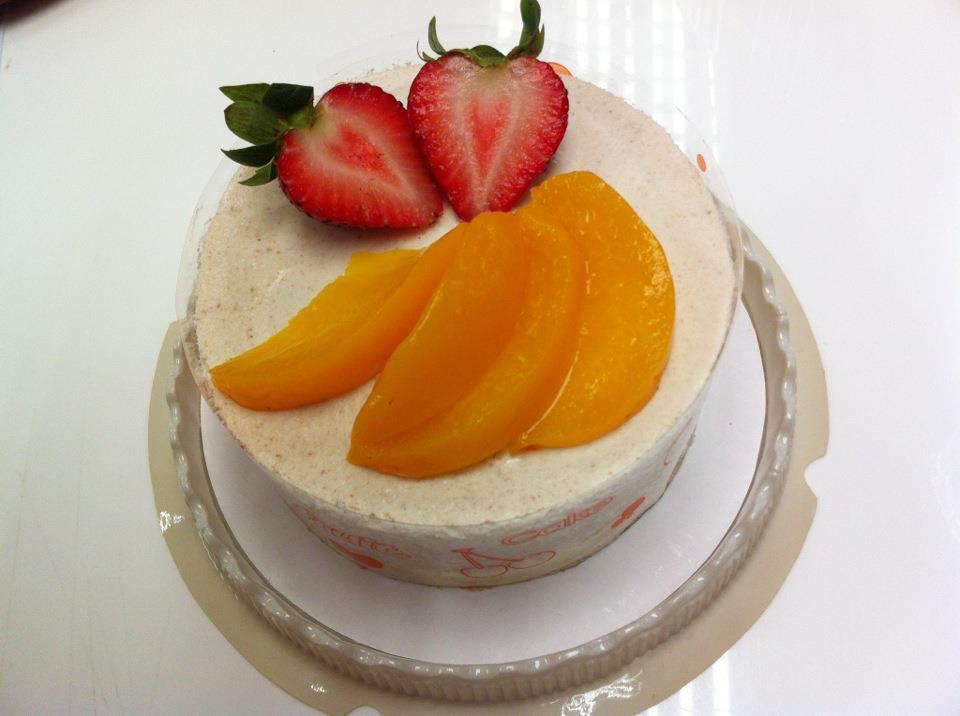 栗子慕士蛋糕