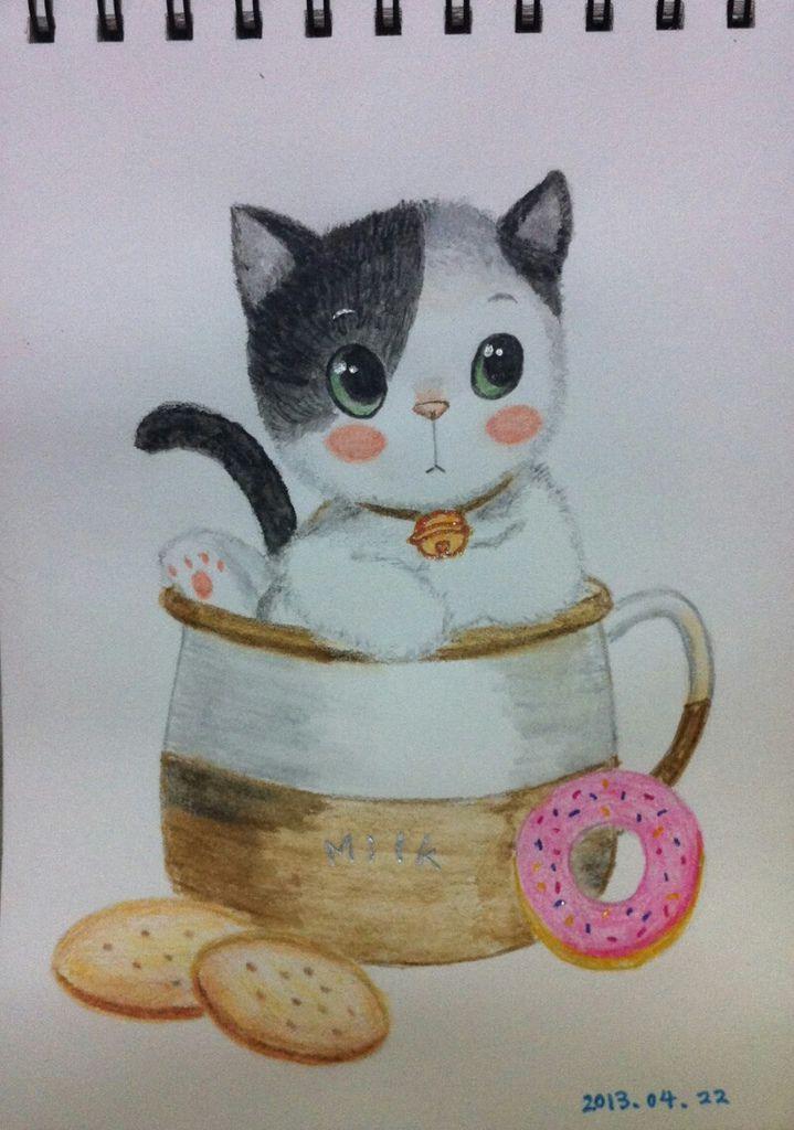 木顏色-貓