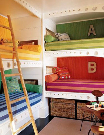 bunk beds apartment therapy