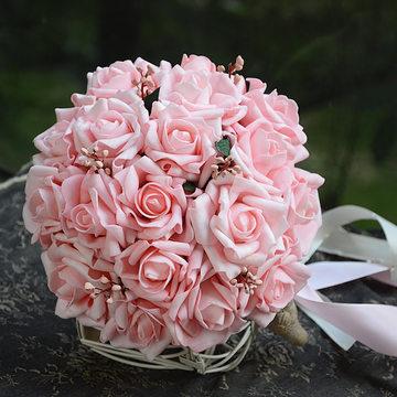 拍照道具新娘捧花