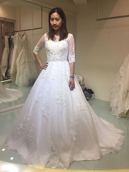 台北婚紗工作室:推薦手工禮服
