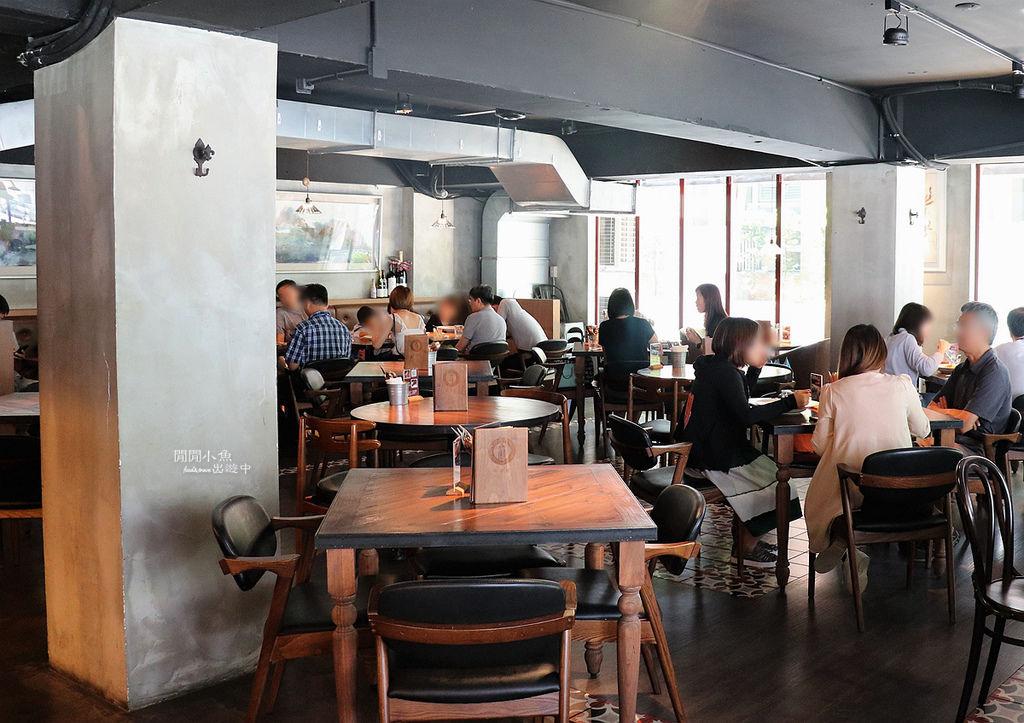好米亞義法餐酒館用餐空間