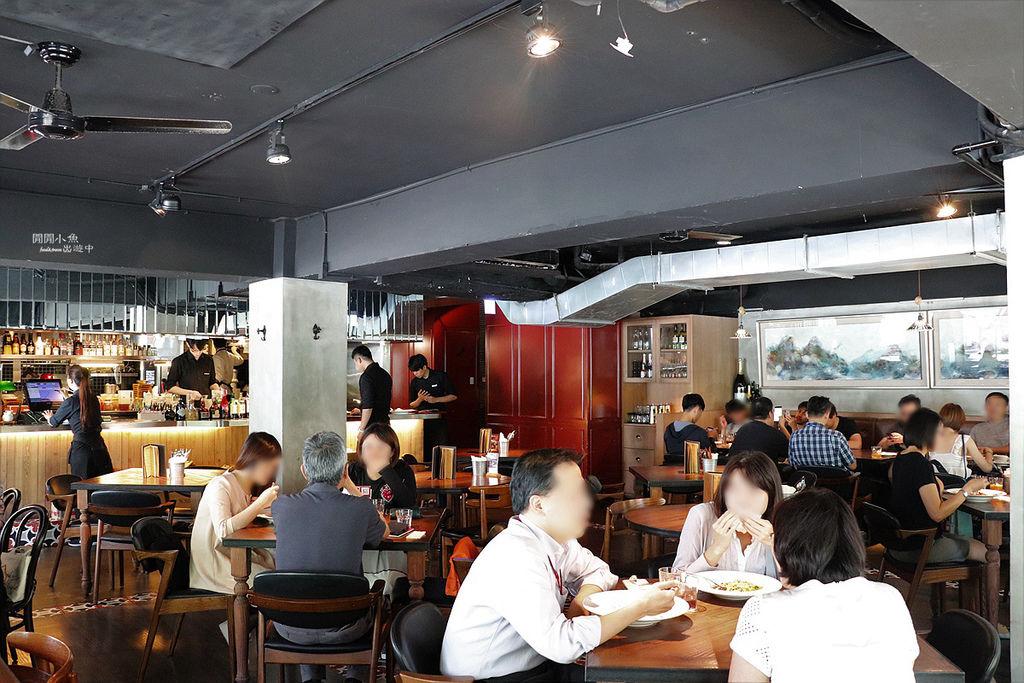 好米亞餐酒館用餐空間