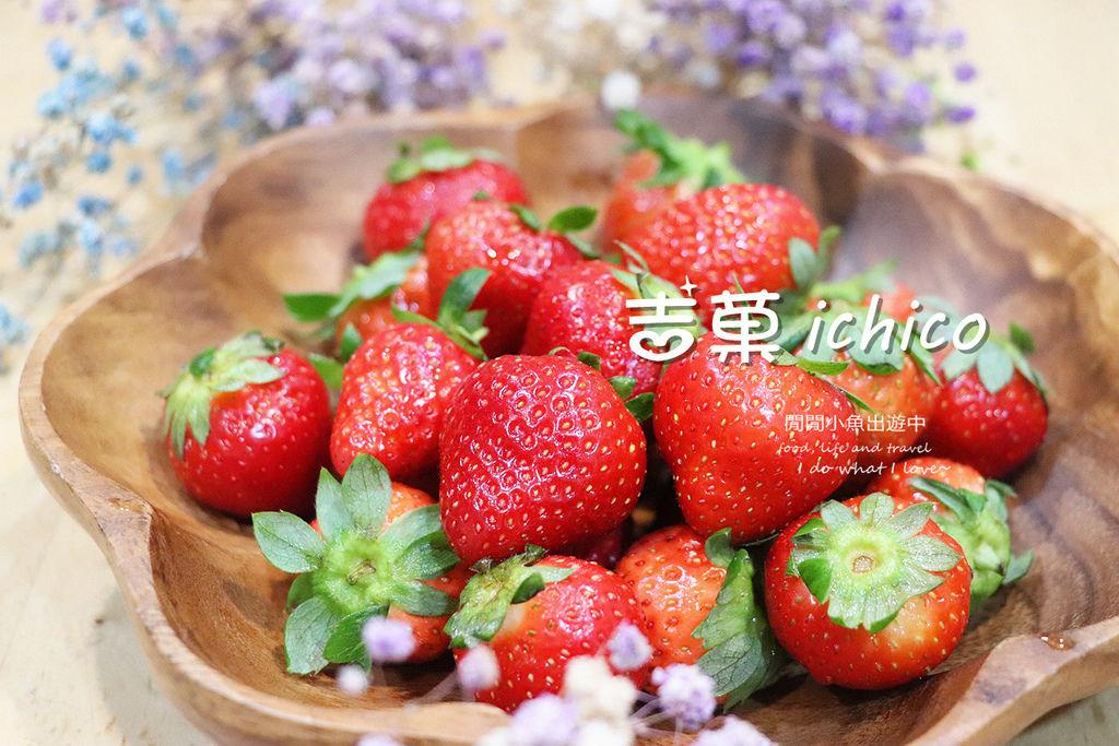 有機草莓吉菓ichico草莓禮盒